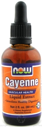 DROPPED: NOW Foods - Cayenne Liquid Extract - 2 oz.