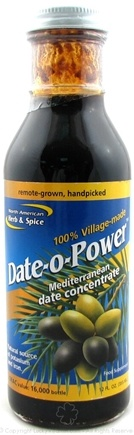 DROPPED: North American Herb & Spice - Date-o-Power Concentrate - 12 oz.