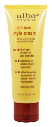 Alba Botanica - Style Cream Soft Hold - 4 oz.