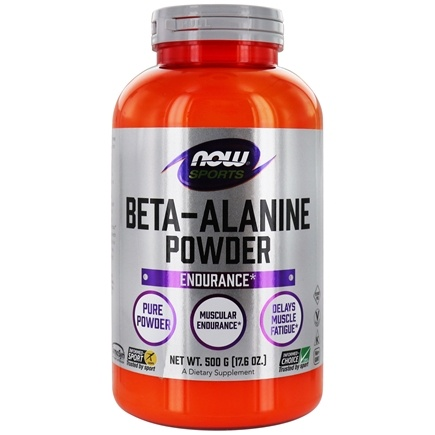 NOW Foods - Beta-Alanine 100% Pure Powder - 500 Grams