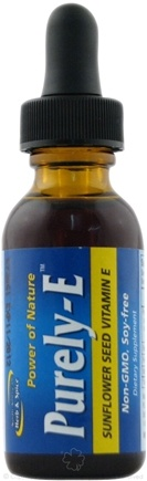 DROPPED: North American Herb & Spice - Purely-E Sunflower Seed Vitamin E - 1 oz. CLEARANCED PRICED