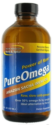 DROPPED: North American Herb & Spice - PureOmega Plant Source Omega-3s - 8 oz.