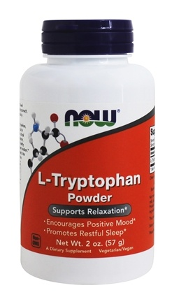 NOW Foods - L-Tryptophan Powder - 2 oz.
