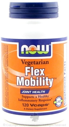 DROPPED: NOW Foods - Flex Mobility Vegetarian - 120 Vegetarian Capsules