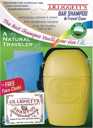 DROPPED: JR Liggett's - A Natural Traveler Old Fashioned Shampoo Travel Pack