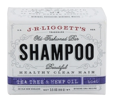 JR Liggett's - Old-Fashioned Shampoo Bar Tea Tree & Hemp Oil - 3.5 oz.
