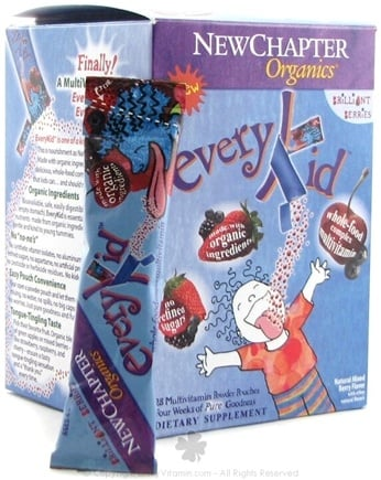DROPPED: New Chapter - Every Kid Multi-Vitamin Brilliant Berries - 28 Packet(s)