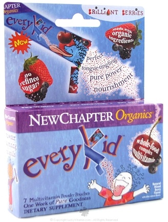 DROPPED: New Chapter - Every Kid Multi-Vitamin Brilliant Berries - 7 Packet(s)
