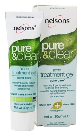 Nelsons - Pure & Clear Acne Treatment Gel - 1 oz.