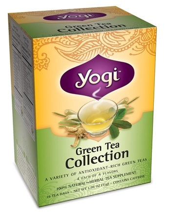 DROPPED: Yogi Tea - Green Tea Collection - 16 Tea Bags