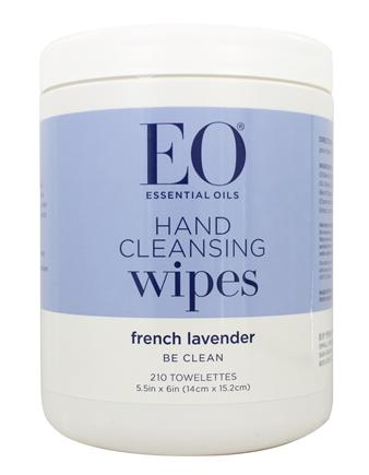 EO Products - All-Purpose Sanitizing Wipes Lavender - 210 Wipe(s)