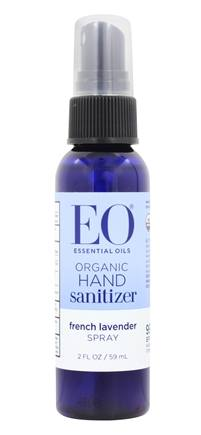 EO Products - Hand Sanitizing Spray Travel Size Organic Lavender - 2 oz.