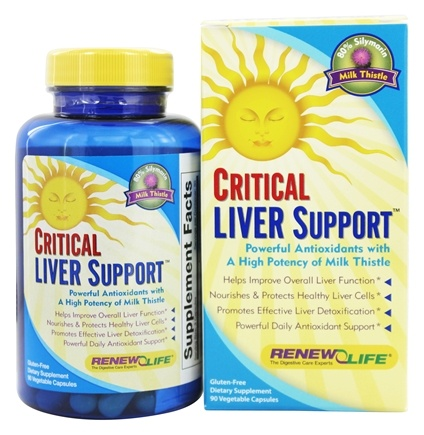ReNew Life - Critical Liver Support - 90 Capsules