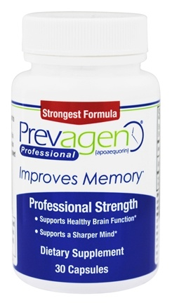 DROPPED: Quincy Bioscience - Prevagen 40 mg. - 30 Capsules