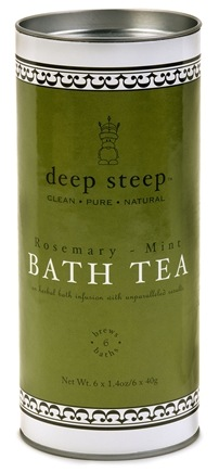 DROPPED: Deep Steep - Bath Tea Rosemary Mint - 6 Tea Bags