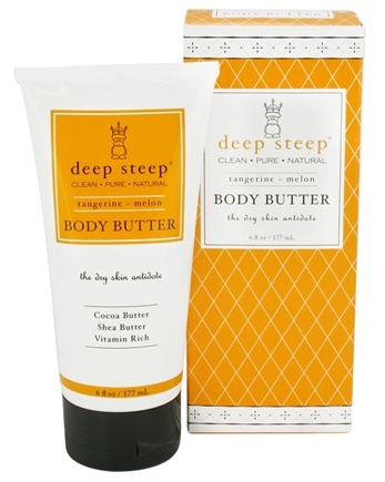 DROPPED: Deep Steep - Body Butter Tangerine-Melon - 6 oz.