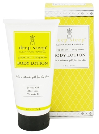 DROPPED: Deep Steep - Body Lotion Grapefruit-Bergamot - 6 oz.