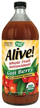 DROPPED: Nature's Way - Alive! Organic Goji Berry Juice - 32 oz. CLEARANCE PRICED