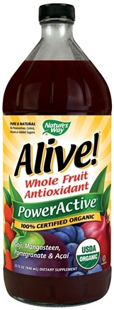 DROPPED: Nature's Way - Alive! Organic Power Active - 32 oz.