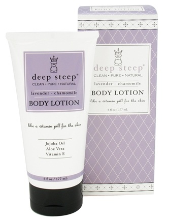 DROPPED: Deep Steep - Body Lotion Lavender-Chamomile - 6 oz.