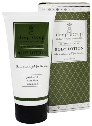 Deep Steep - Body Lotion Rosemary Mint - 6 oz.