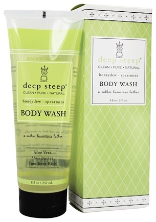 Deep Steep - Body Wash Honeydew Spearmint - 8 oz.