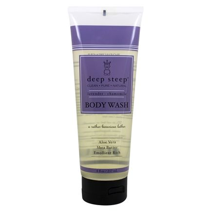 Deep Steep - Body Wash Lavender Chamomile - 8 oz.