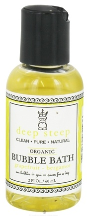 DROPPED: Deep Steep - Bubble Bath Grapefruit Bergamot - 2 oz. CLEARANCE PRICED