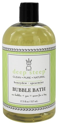 DROPPED: Deep Steep - Bubble Bath Honeydew Spearmint - 17 oz.
