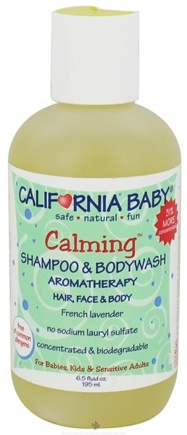 DROPPED: California Baby - Aromatherapy Shampoo & Bodywash Calming - 6.5 oz.