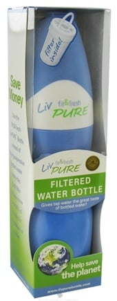 DROPPED: Fit & Fresh - LivPure Filtered Water Bottle - 20 oz.