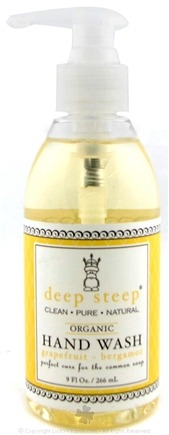 DROPPED: Deep Steep - Organic Hand Wash Grapefruit Bergamot - 9 oz.