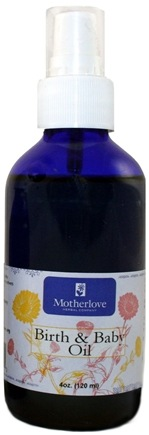 DROPPED: Motherlove - Birth and Baby Massage Oil - 4 oz.