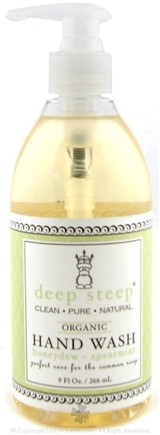 DROPPED: Deep Steep - Organic Hand Wash Honeydew Spearmint - 9 oz.