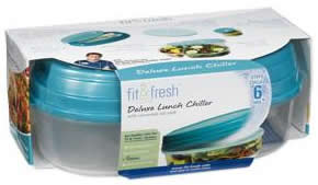 DROPPED: Fit & Fresh - Deluxe Lunch Chiller with Removable Ice Pack