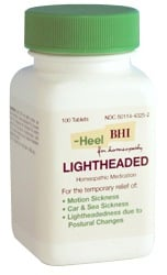 DROPPED: BHI/Heel - Lightheaded - 100 Tablets