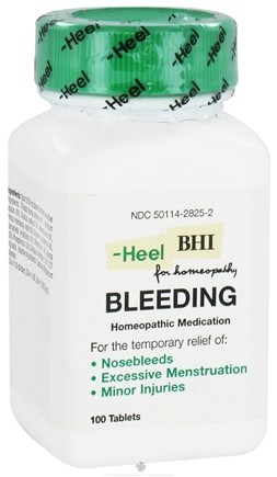 DROPPED: BHI/Heel - Bleeding - 100 Tablets CLEARANCE PRICED