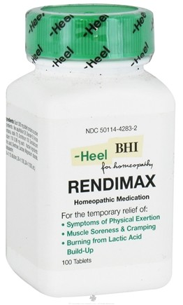 DROPPED: BHI/Heel - RendiMAX - 100 Tablets CLEARANCED PRICED