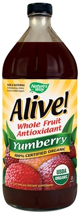 DROPPED: Nature's Way - Alive! Organic Yumberry Juice - 32 oz.