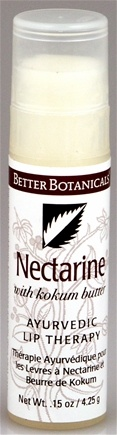 DROPPED: Better Botanicals - Ayuverdic Lip Therapy Nectarine - 0.15 oz. CLEARANCE PRICED