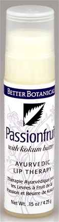 DROPPED: Better Botanicals - Ayuverdic Lip Therapy Passionfruit - 0.15 oz.