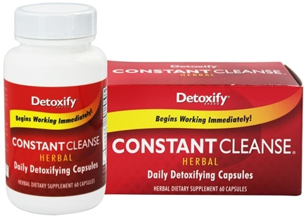 Detoxify Brand - Constant Cleanse Herbal - 60 Capsules