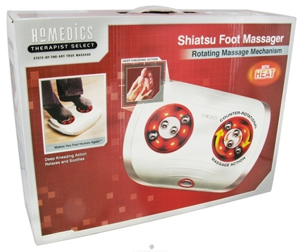 DROPPED: HoMedics - Therapist Select Shiatsu Foot Massager FM-S - CLEARANCE PRICED