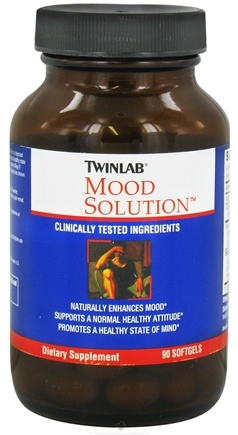 DROPPED: Twinlab - Mood Solution - 90 Softgels