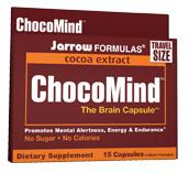 DROPPED: Jarrow Formulas - ChocoMind Brain Capsule - 15 Capsules