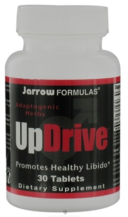 DROPPED: Jarrow Formulas - UpDrive Adaptogenic Herbs - 30 Tablets