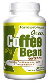 DROPPED: Jarrow Formulas - Green Coffee Bean Extract - 60 Tablets