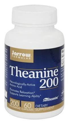 Jarrow Formulas - Theanine 200 mg. - 60 Capsules