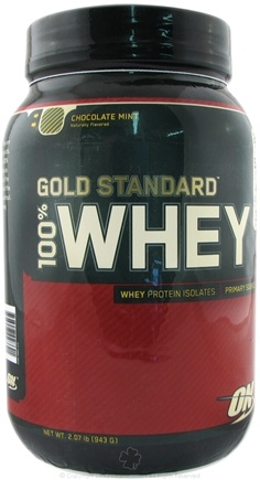 DROPPED: Optimum Nutrition - 100% Whey Gold Standard Protein Chocolate Mint - 2 lbs.