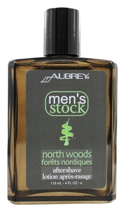 Aubrey Organics - Men's Stock North Woods After Shave Pine - 4 oz.